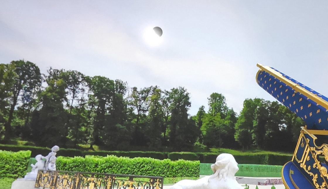 L'Eclipse royale : expérience de réalité virtuelle