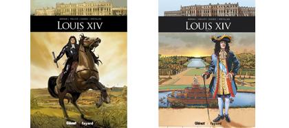 BD Louis XIV - Tomes 1 et 2