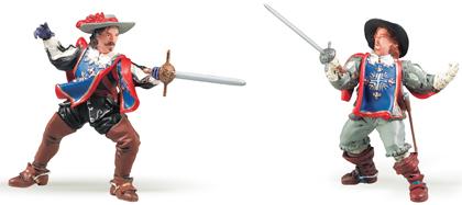 Figurines : Aramis et Porthos
