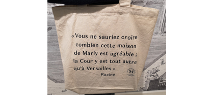 Tote bag citation Racine