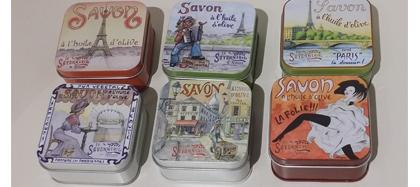 Savon (boite métal)
